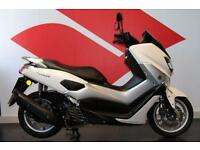 2016 16 YAMAHA NMAX 125 ABS GPD125-A WHITE, LOW MILEAGE!