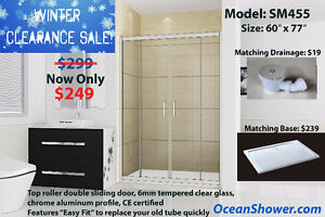 Customer appreciation Sale for Tempered Sliding Glass showerDoor