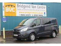 2014 FORD TRANSIT CUSTOM 290 2.2 TDCI 125 BHP L1 LIMITED 6 SEAT DOUBLECAB DIESEL