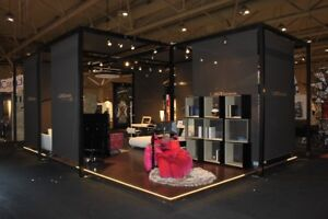 Beautiful Custom Made 20X30' Trade Show/Showroom Booth
