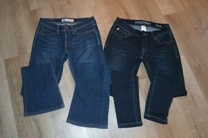 Jeans  (Levi's And bootleggar)