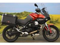 Moto Guzzi Stelvio 1200**PANNIERS, TOPBOX, ADJUSTABLE SUSPENSION**