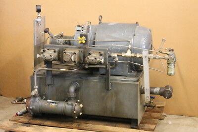 Hydraulic Power Supply Power Unit Hpu 20hp 3000 Psi 220440v Denison