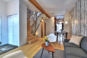 FURNISHED TOWNHOUSE, 6 BEDROOMS, 2.5 BATHS, 10' FROM MCGILL