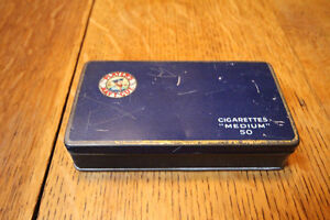 PLAYERS NAVY CUT TOBACCO 50 MEDIUM TIN
