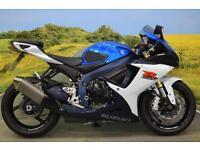 Suzuki GSX-R750 **R&G TAIL TIDY, BREMBO BRAKES, STOMP GRIPS, K&N AIR FILTER**