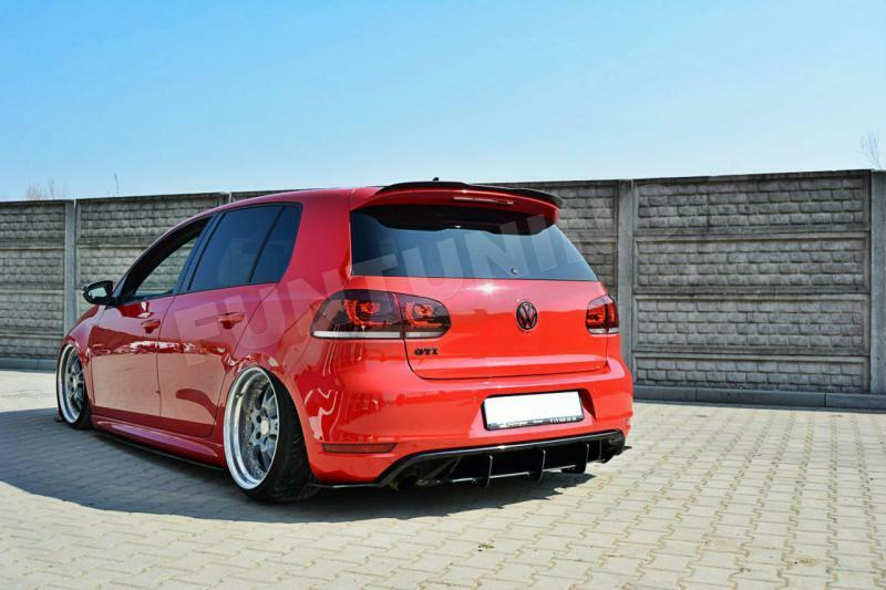 vw golf 6 gti heckansatz dtm diffusor heckdiffusor. Black Bedroom Furniture Sets. Home Design Ideas