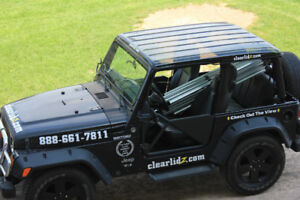 2005 Jeep Wrangler TJ with Clear Roof