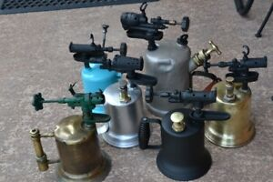 VINTAGE TOOLS - Collection of Vintage Torches