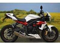 Triumph Street Triple 2013 ** ARROW EXHAUST, CRASH BARS, SEAT COWL, TAIL TIDY **