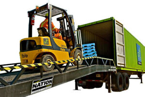 Ramp Rental - Trailer/Container Loading or Warehouse Ramps
