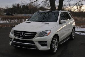 2012 Mercedes-Benz M-Class ML350 AMG Package