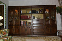 Set of bookcases made out of walnut by Hoocker Furniture