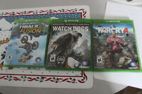Trial Fusion, Watch Dogs, Far Cry 4,
