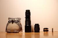 50mm F2 yashinon pour m42, Fuji XF, Sony E, Micro 4/3, canon