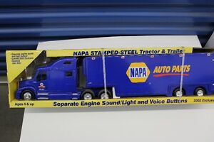 NAPA  TRACTOR TRAILER   NEW IN BOX   22 INCHES LONG