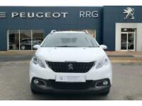 2016 Peugeot 2008 1.2 PureTech Active 5dr Petrol white Manual