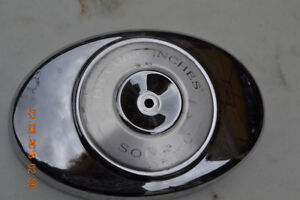 Chrome air breather cover for Harley Davidson Softail