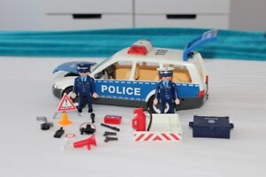 voiture police playmobil