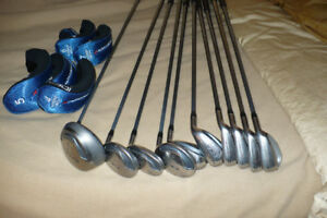 men's and women's golf sets