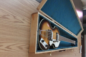 Early 60's violin bass