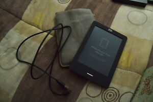 E Reader, Case, and Charger