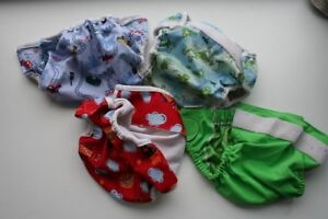 4 Bummis Large covers
