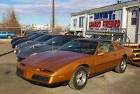 1982 Pontiac Firebird V8 Auto T-Top Edmonton Edmonton Area Preview