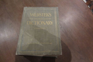 Large Websters Dictionary