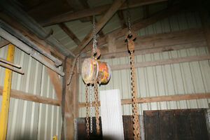 3 1/2 Ton Block and Tackle