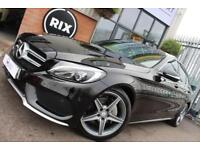2014 64 MERCEDES-BENZ C-CLASS 2.1 C220 BLUETEC AMG LINE 4D AUTO-SATNAV-HEATED SE