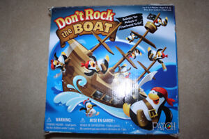 Don't Rock the Boat Pirate Ship Penguin Game