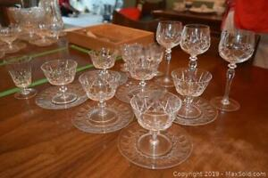 Crystal Glassware A