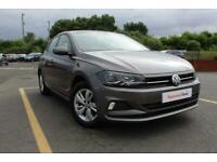 2018 Volkswagen Polo 1.0 EVO SE (s/s) 5dr Hatchback Petrol Manual