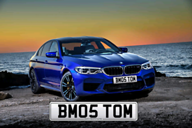 TOM PRIVATE NUMBER PLATE