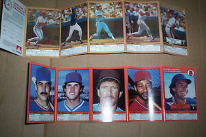 lot of Various football cards, General Mills Panels (baseball) +