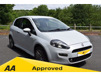 Fiat Punto 1.4 8V GBT - 6 MONTH WARRANTY (white) 2012