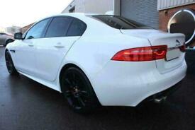 2016 WHITE JAGUAR XE 2.0 D 180 R SPORT DIESEL SALOON CAR FINANCE FR £225 PCM