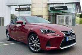 image for 2017 Lexus IS SALOON 300h Executive Edition 4dr CVT Auto Saloon Petrol/Electric