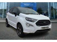 2018 Ford Ecosport ST-LINE 1.0 125 ECOBOOST WITH SAT NAV AND REVERSE CAMERA! Man