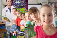 Mad Science Summer Camps for kids!