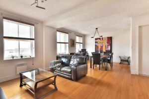 Beautiful 4 1/2 condo in the Old Port