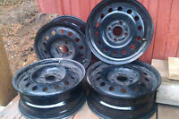 "15"" 4x108 Steel Rims - Great condition - Quick Sell"