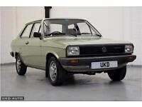 VW VOLKSWAGEN POLO MK1 DERBY GLS 1.3 SALOON 2DR GREEN 1981 ONLY 17K MILES!