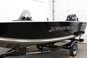 NEW 15 Angler with 25 Hp Merc