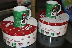 CHRISTMAS THEME COFFEE MUGS
