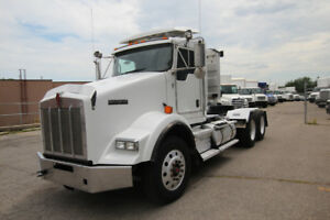 Kenworth T800 Day Cab with Wetline