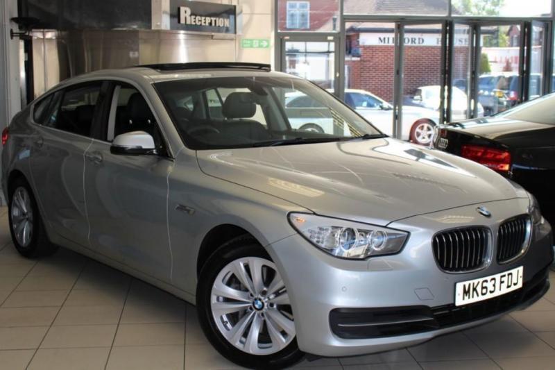 2013 63 BMW 5 SERIES 3.0 530D SE GRAN TURISMO 5D AUTO 255 BHP DIESEL
