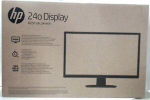 "Brand New HP 24"" Premium Business  Full HD LED Monitor,"