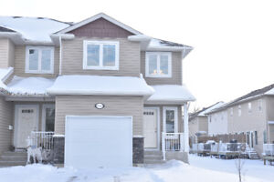 3bed/2.5bath with a finished basement,yard & attached garage!